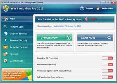 WinAntiVirus Screenshot